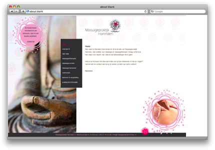 website massage groot